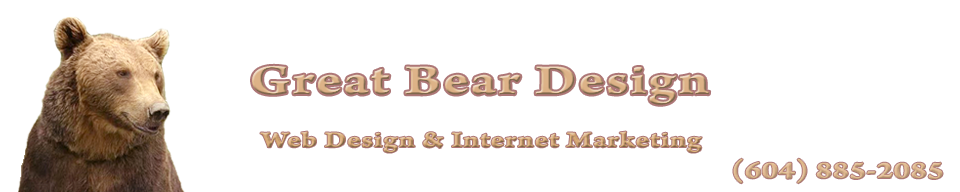 Great Bear Web Design